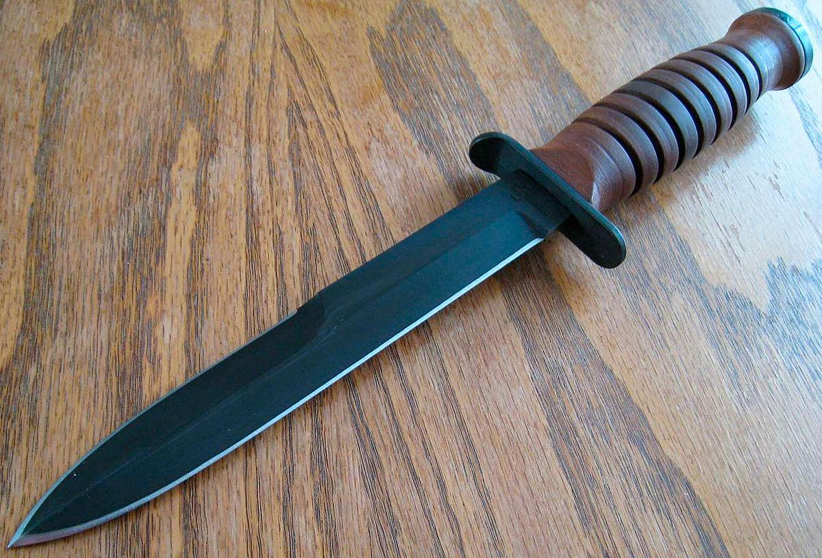 Точим нож подручными средствами