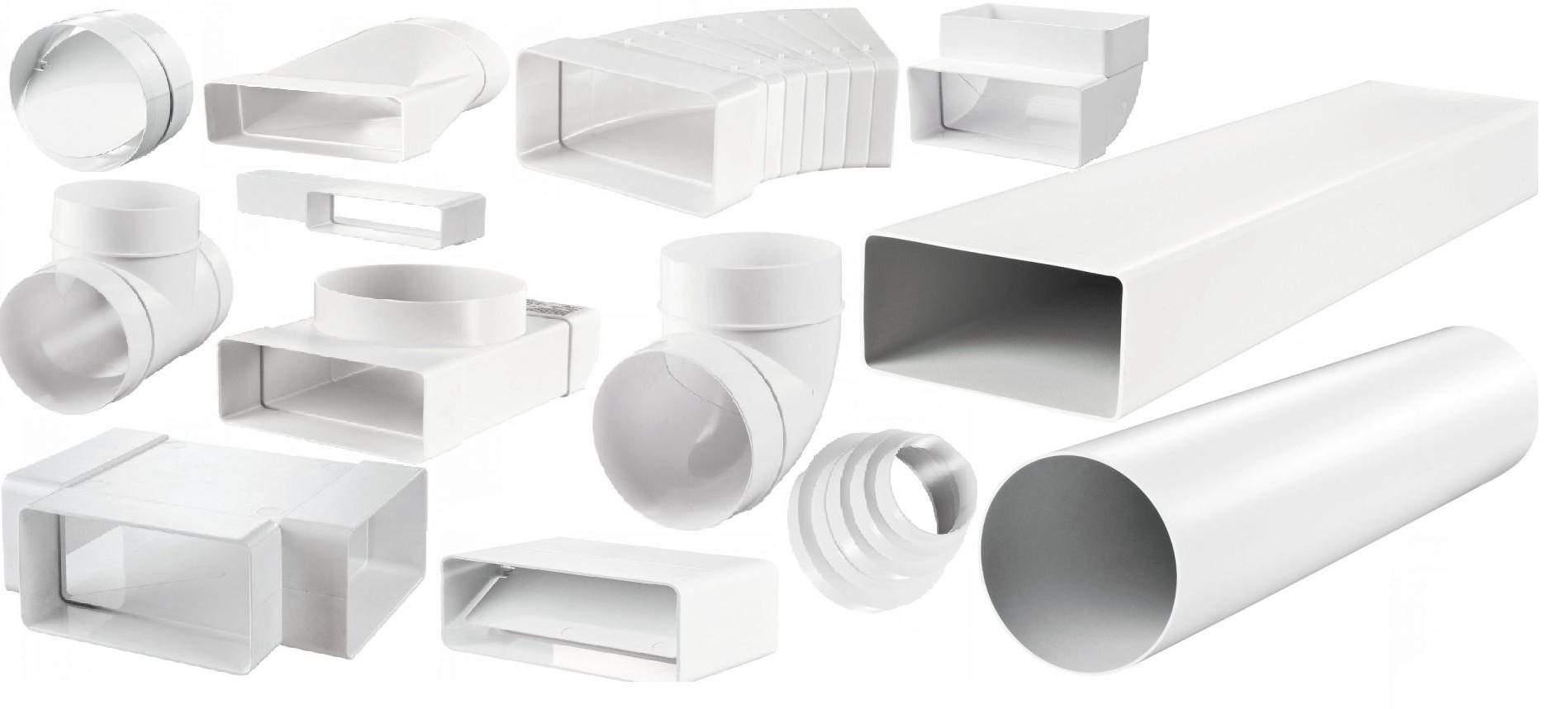 Трубы для вытяжки: диаметр, установка пластиковой гофрированной вентиляции, как спрятать