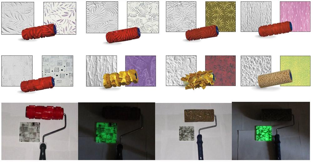 Основные типы текстурной краски