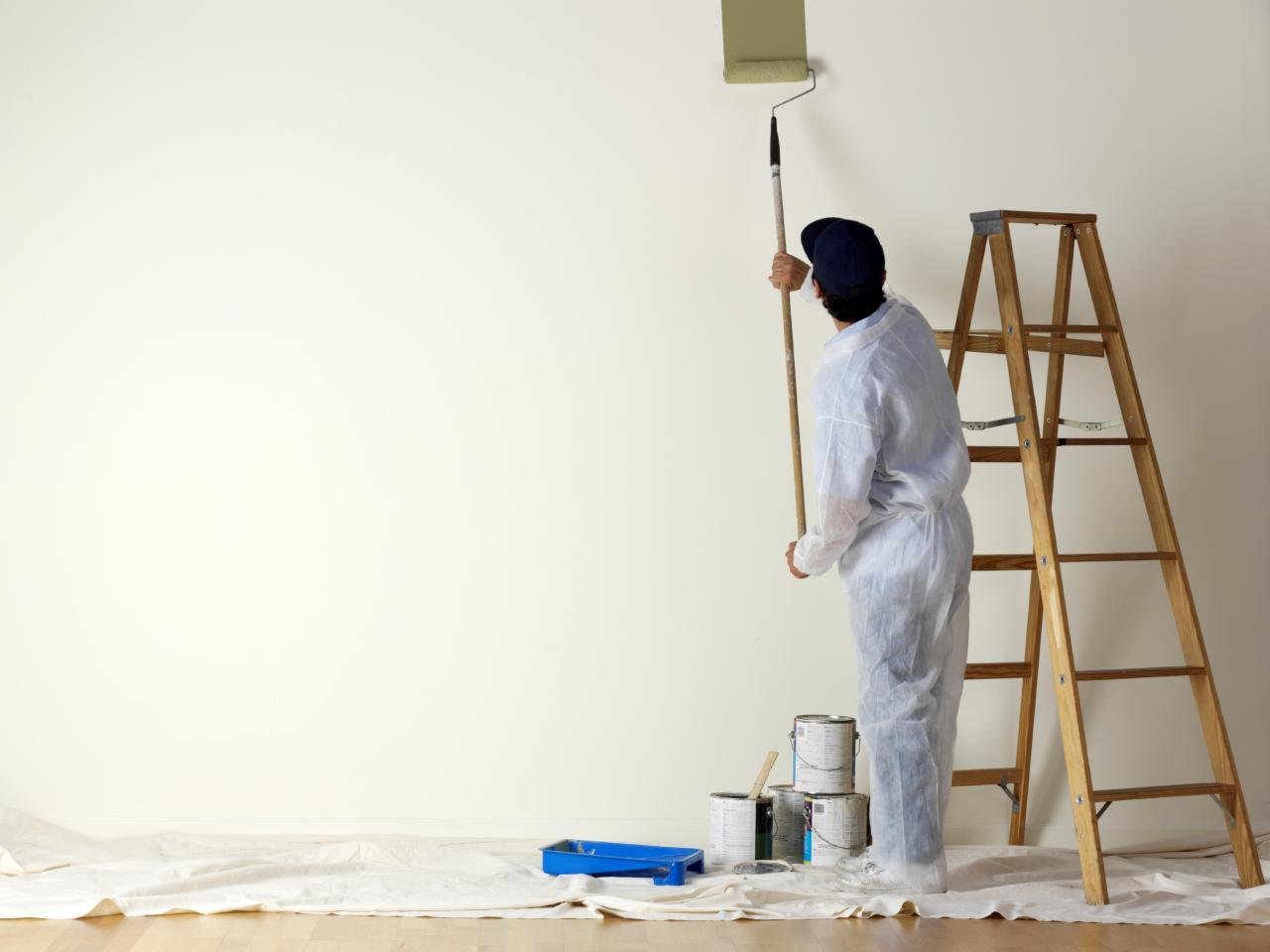 Готовая стена под покраску