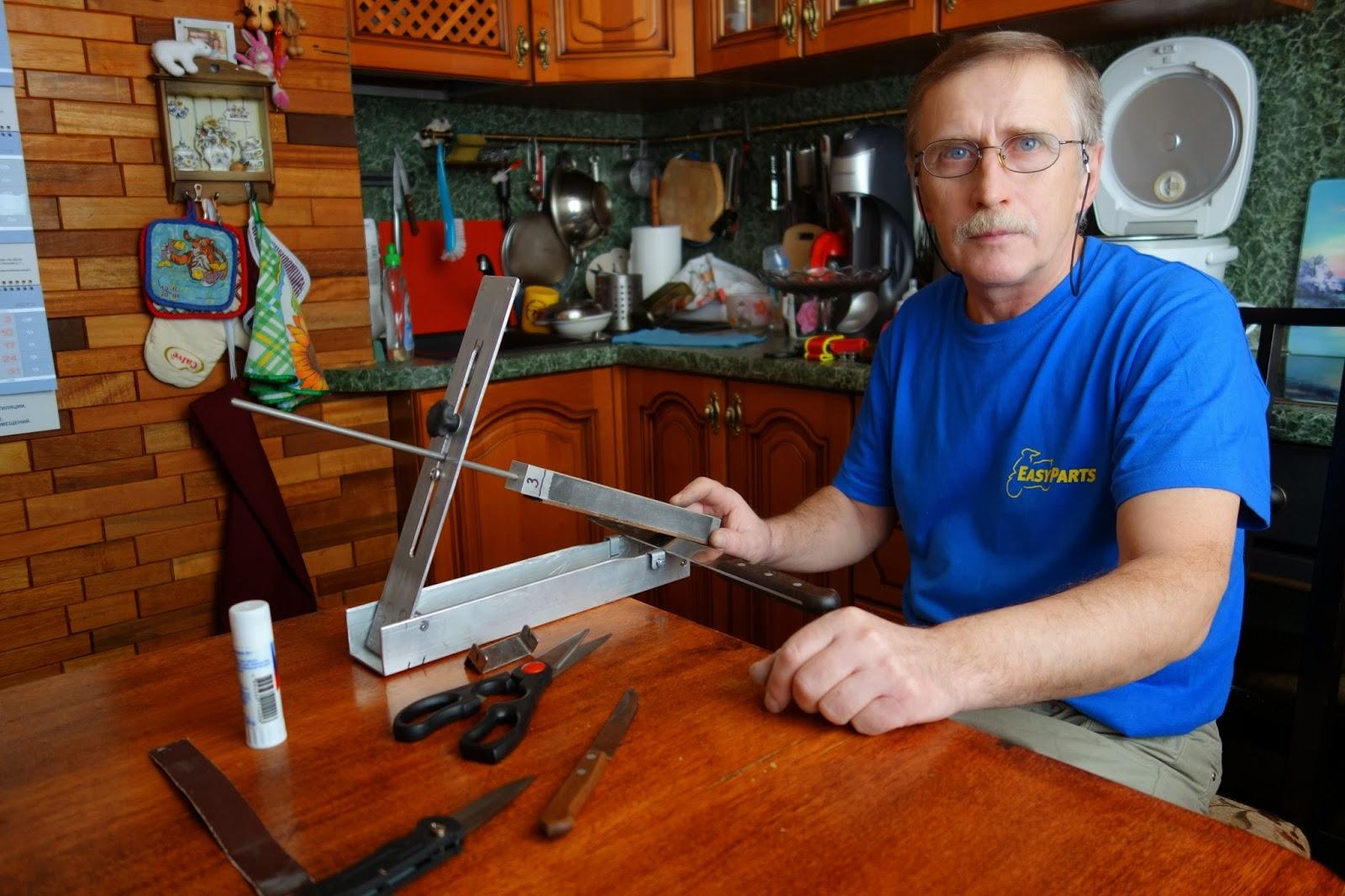 Ручная ножеточка для керамики