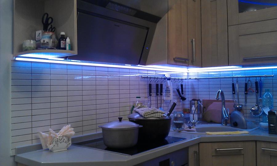 Правильно спланированная рабочая зона на кухне