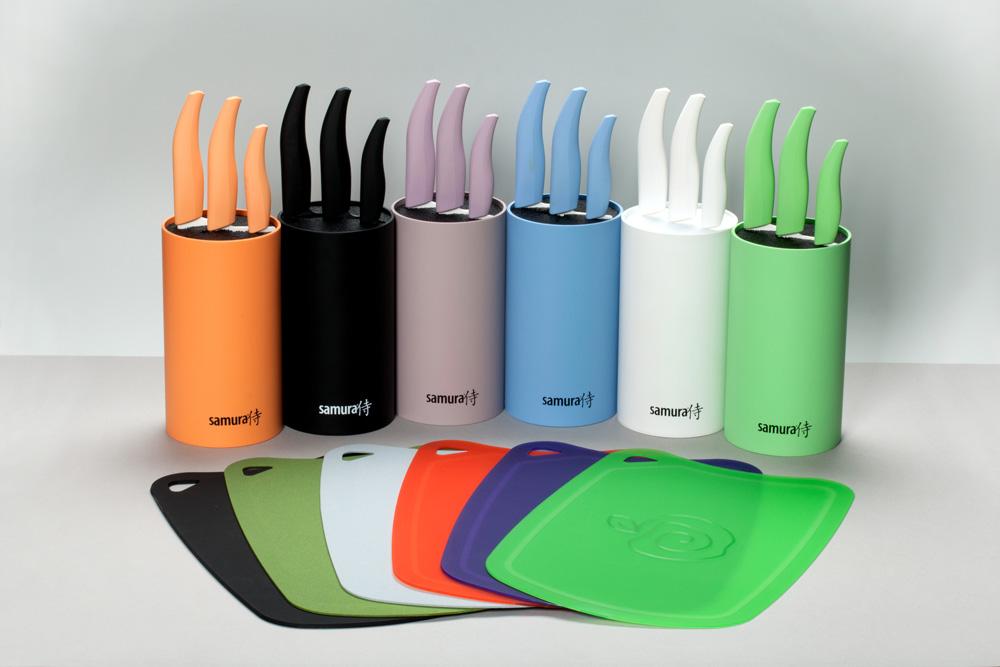 Подставка с наполнителем для кухонных ножей