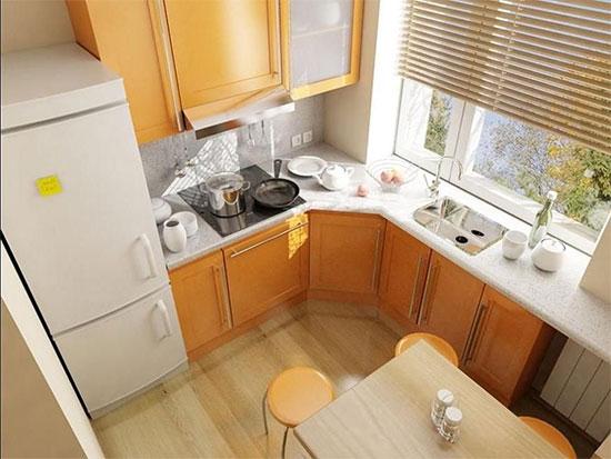 Ремонт маленькой кухни: рекомендации дизайнеров