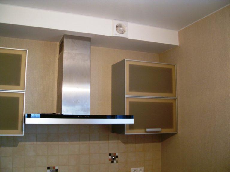 Вытяжка на кухню с воздуховодом своими руками 112