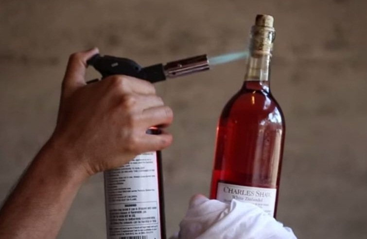 Нагрев бутылки