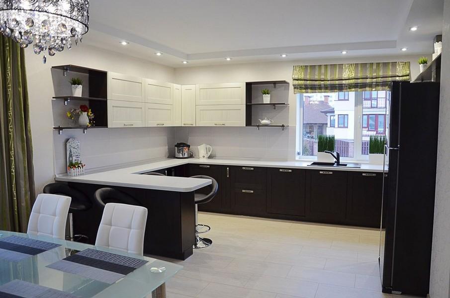 кухня гостиная 25 кв м 20 реальных фото идеи дизайна и секреты