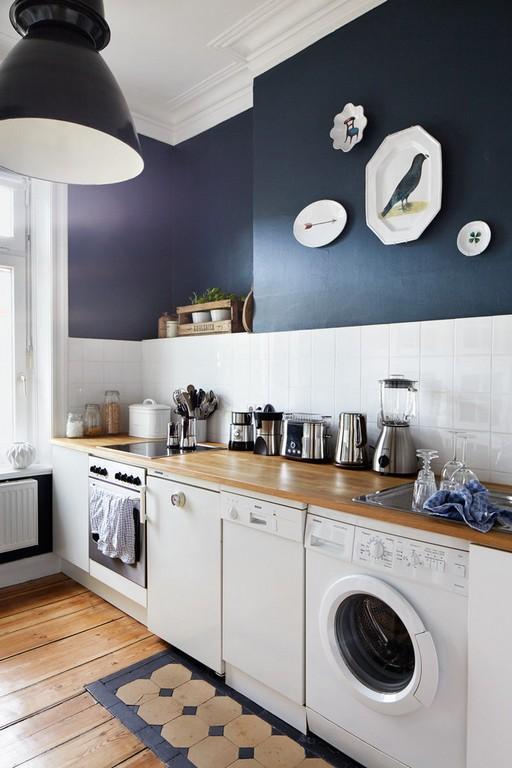 СМ на кухне не скрытая фасадом