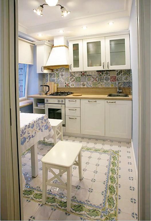 Кухня без верхних шкафов (55 реальных фото): идеи дизайна угловых и линейных, 3 совета по хранению